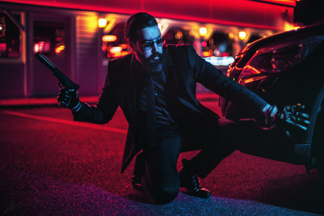 John Wick by benjamin bel photographier french photographer